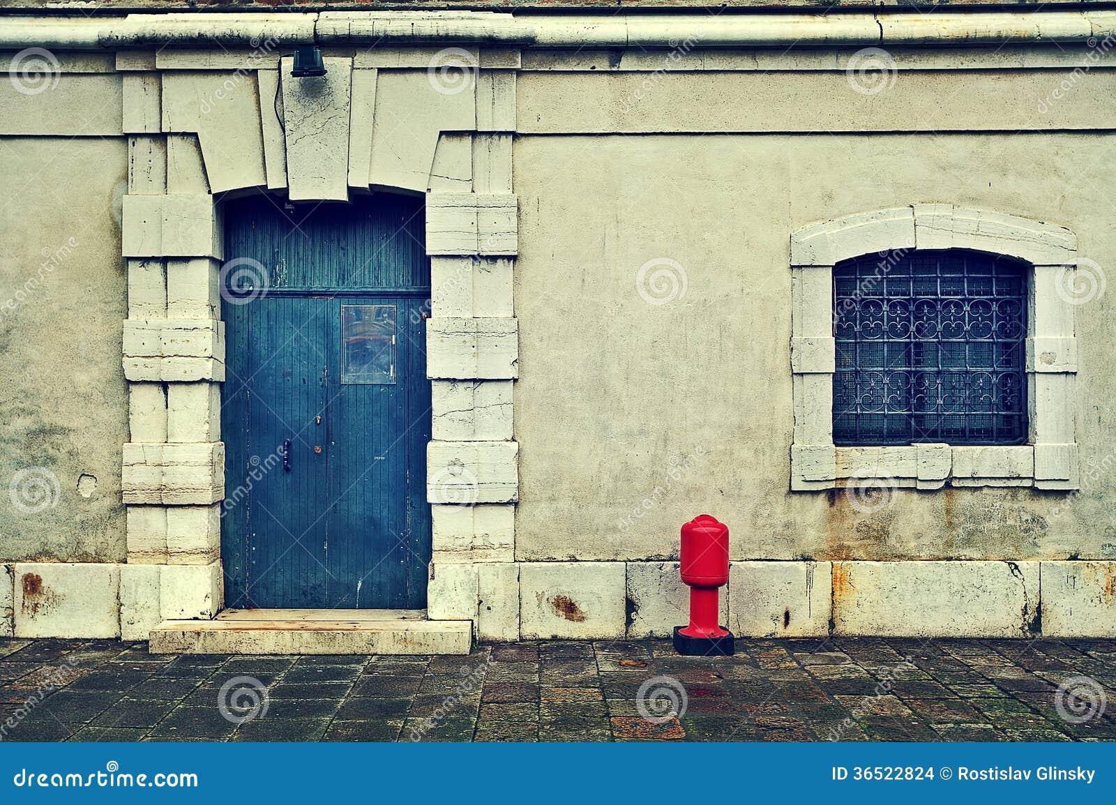 Façade de maison vénitienne typique.