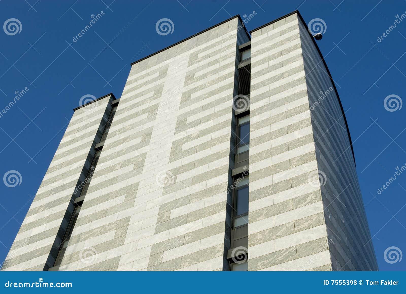 Façade De Marbre Blanche Et Grise Photo Stock Image Du