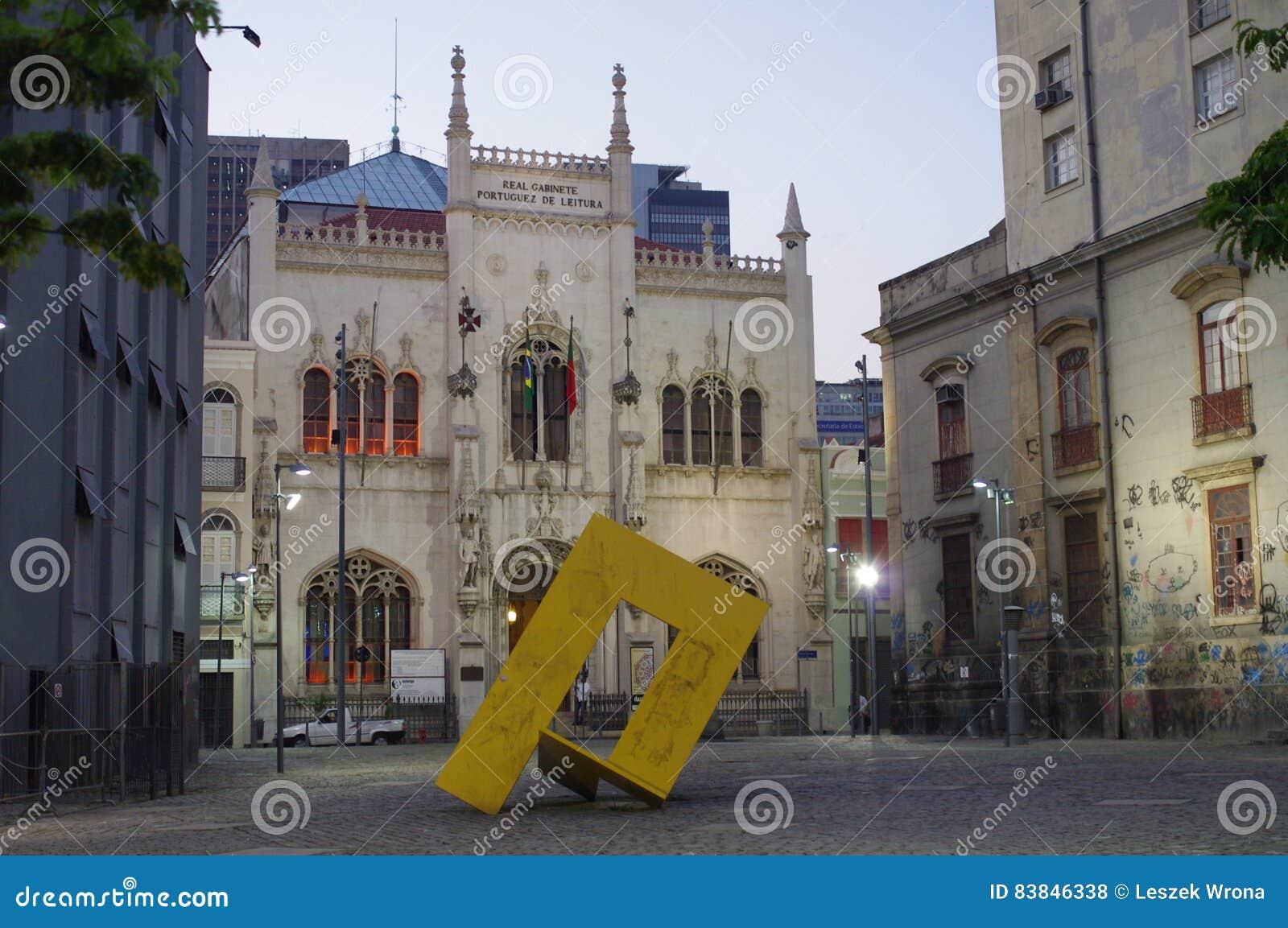 Façade du bureau portugais royal photo stock éditorial image du