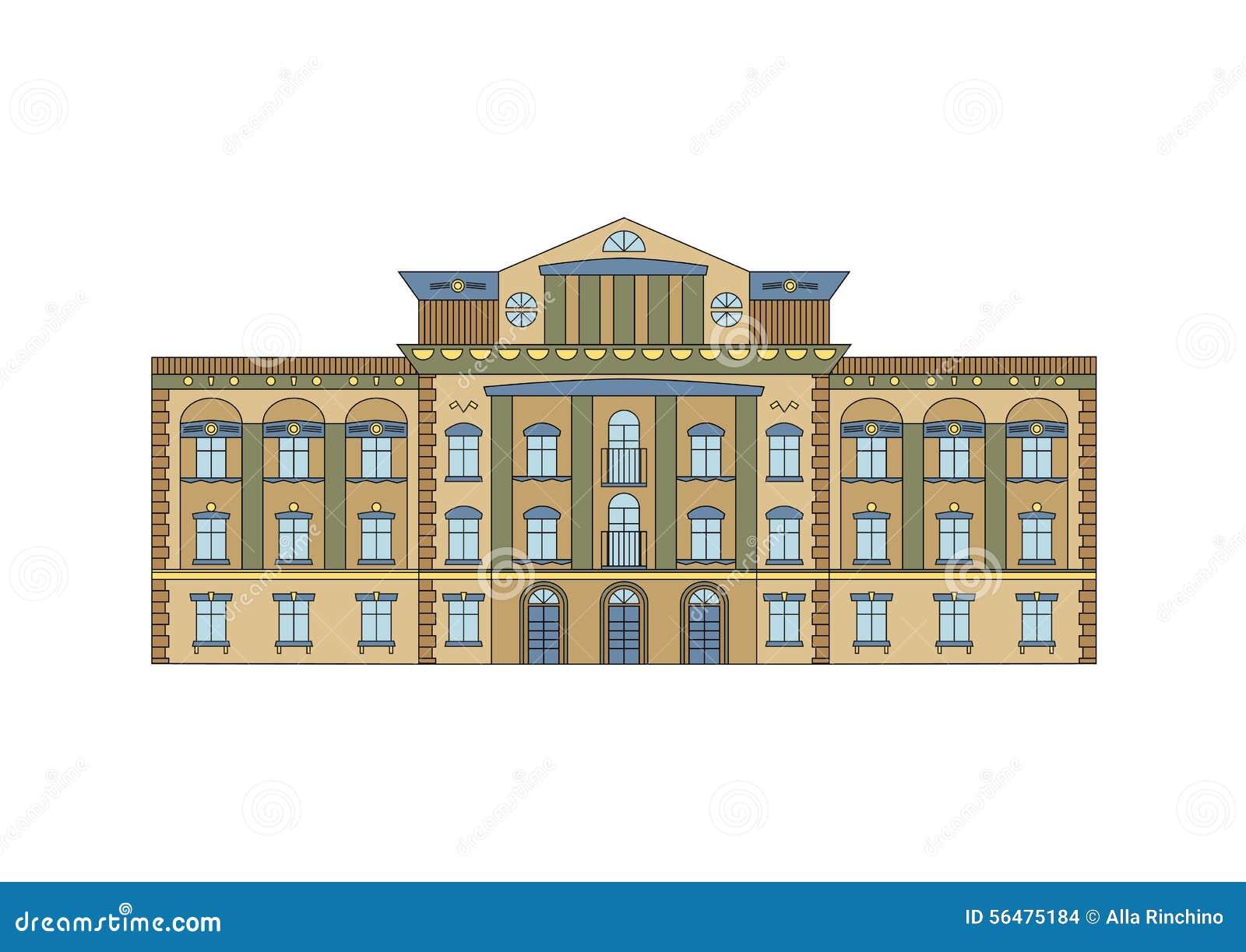Façade historique de construction