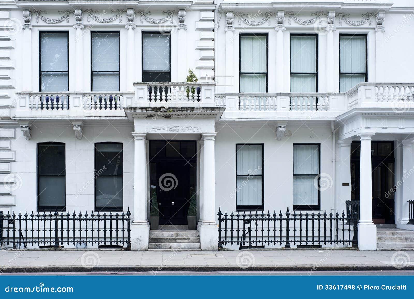 Fa ade victorienne de maison londres photos libres de droits image 33617498 - Maison victorienne londres ...