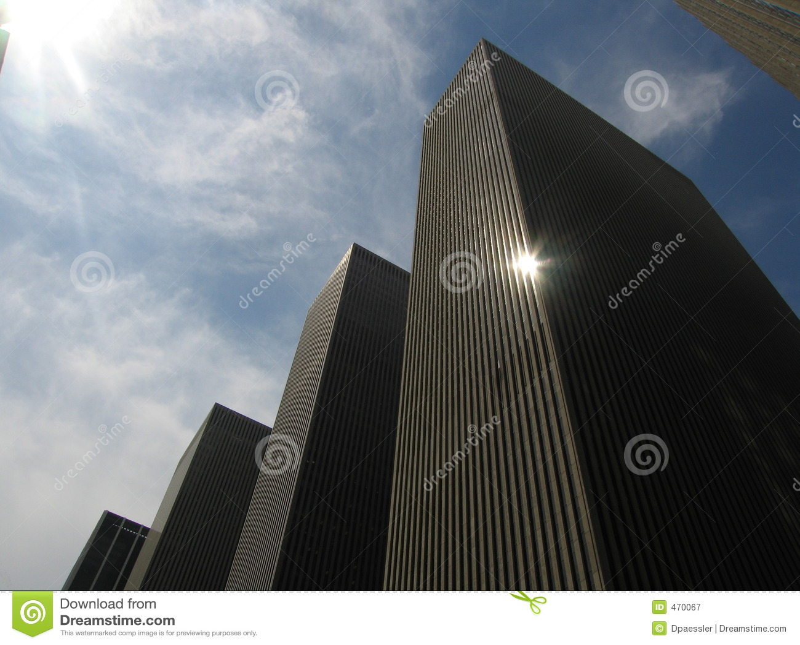 Façades de gratte-ciel