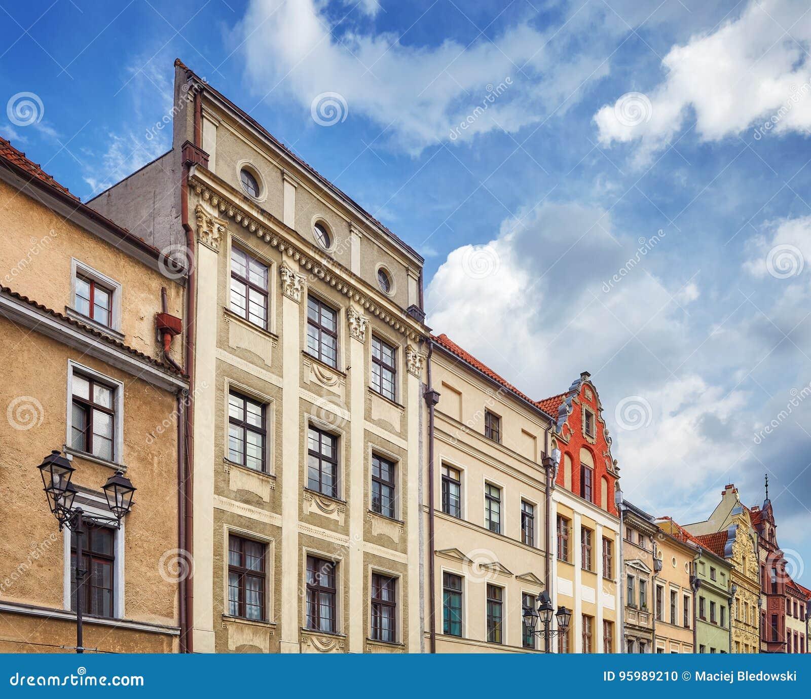 Fa ades de vieilles maisons d 39 appartement dans la vieille - Appartement de ville hotelier vervoordt ...