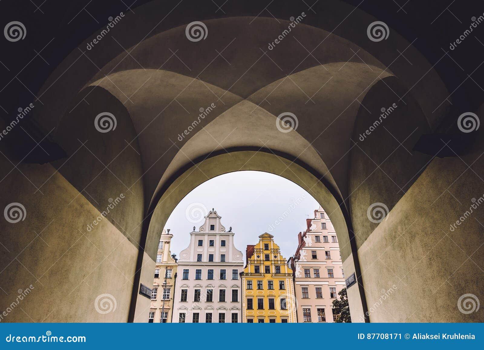 Façades historiques de Chambre à Wroclaw