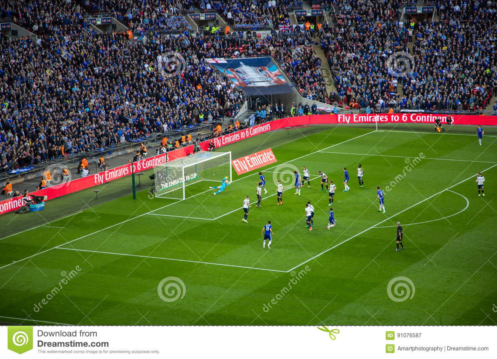 FA-KOPhalve finale Chelsea v Tottenham