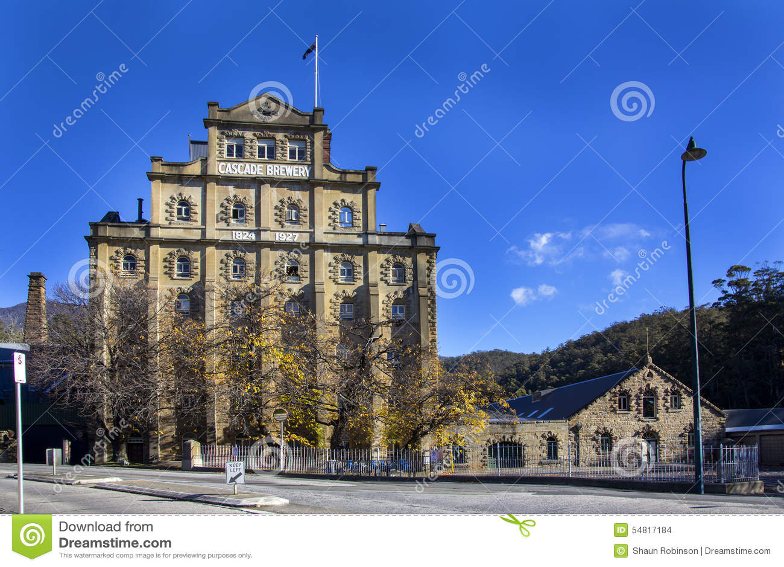 Fabbrica di birra della cascata, Hobart, Tasmania