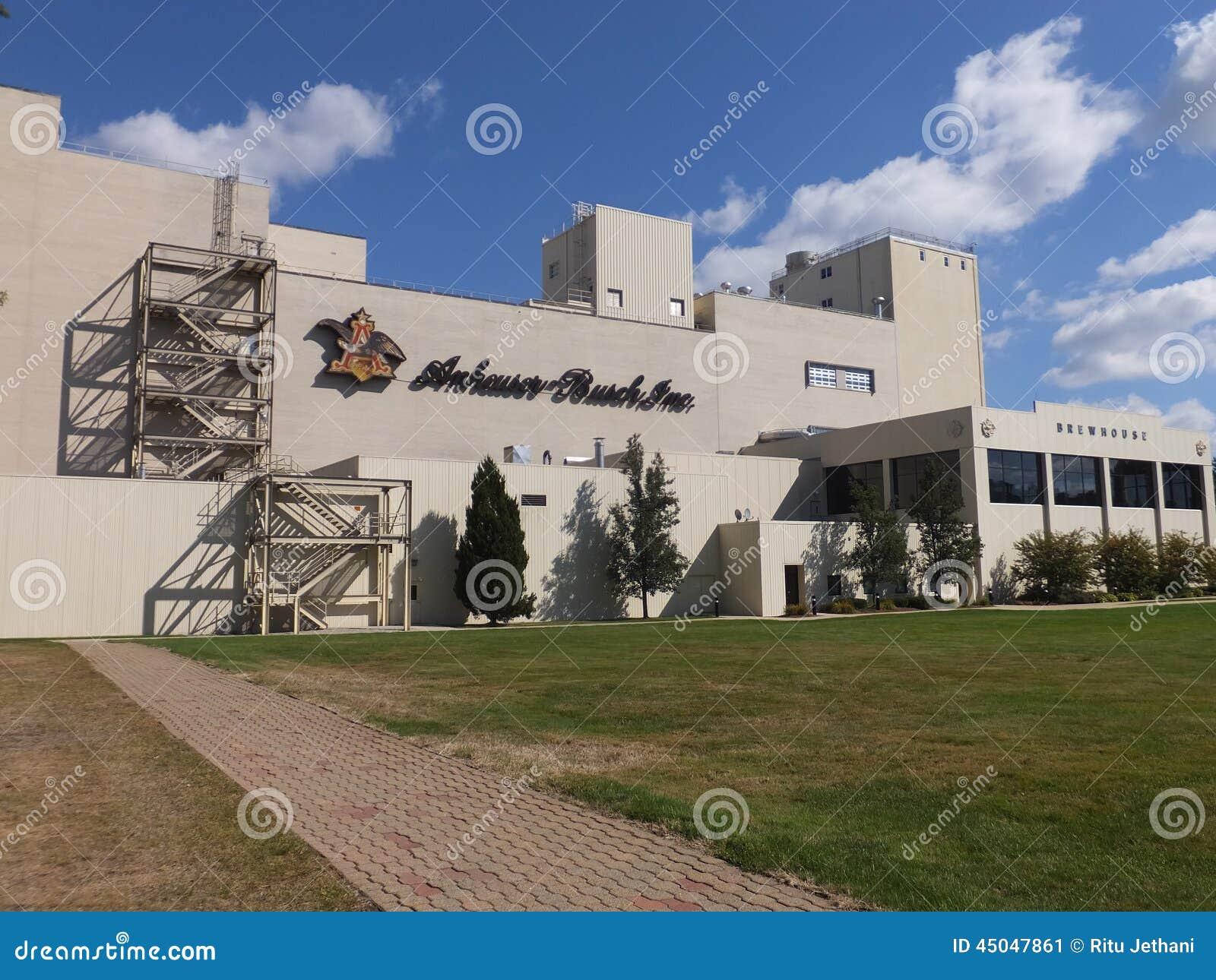 Fabbrica di birra di Anheuser-Busch in Merrimack, New Hampshire