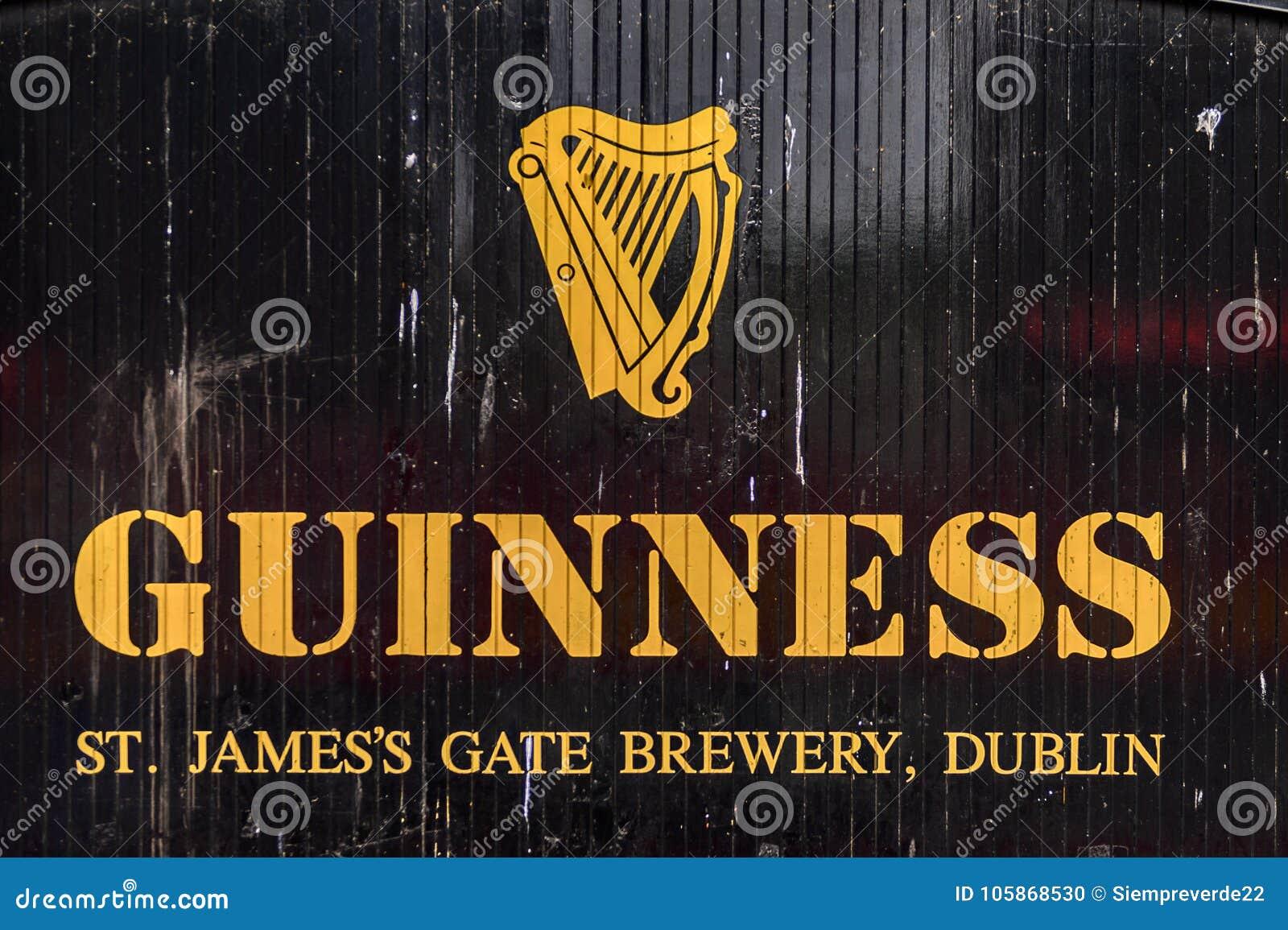 Fabbrica di birra di Guinness, Irlanda