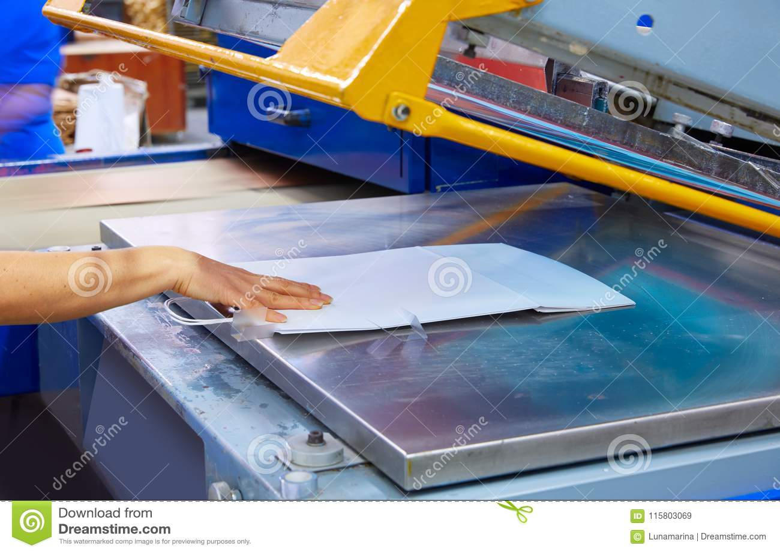 Fabbrica a macchina di stampa delle borse della stampa di serigrafia