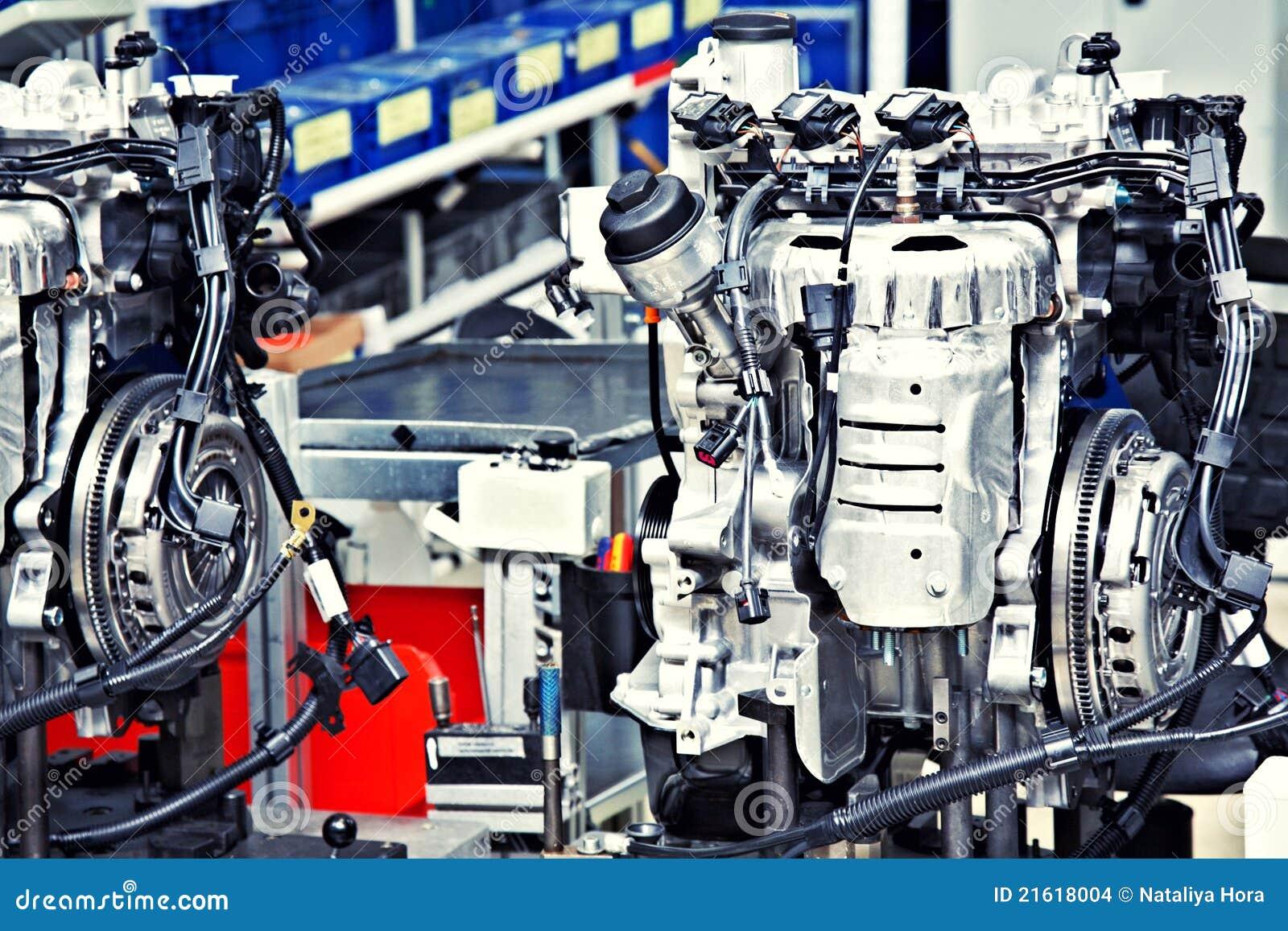 Fabbricazione del motore di automobile