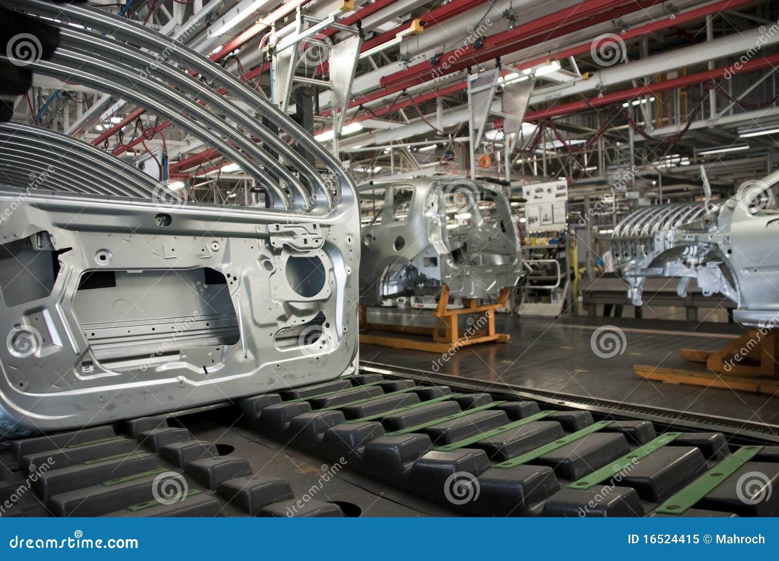 Fabbricazione di industria automobilistica