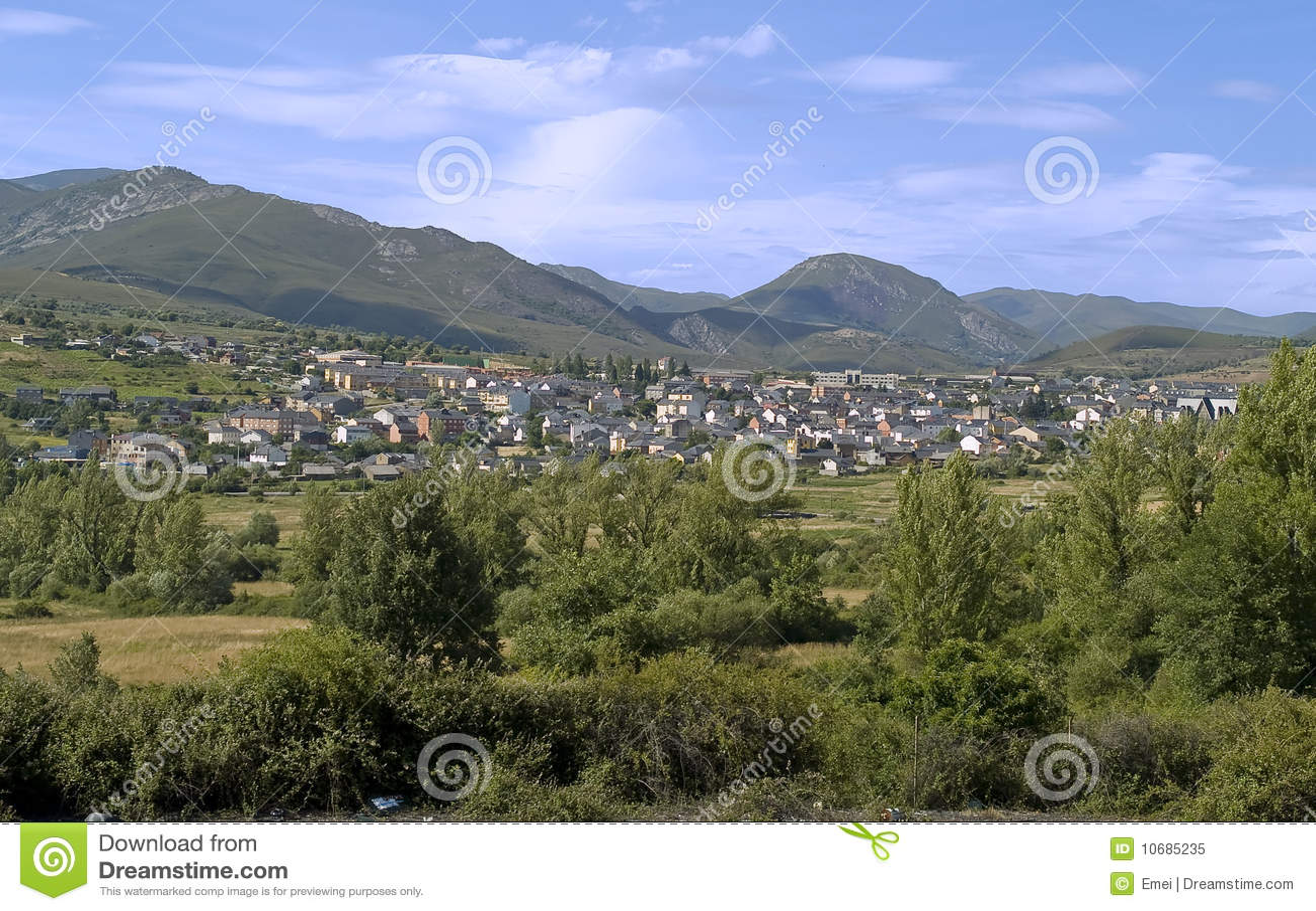 Fabero, Dorf von Nordspanien