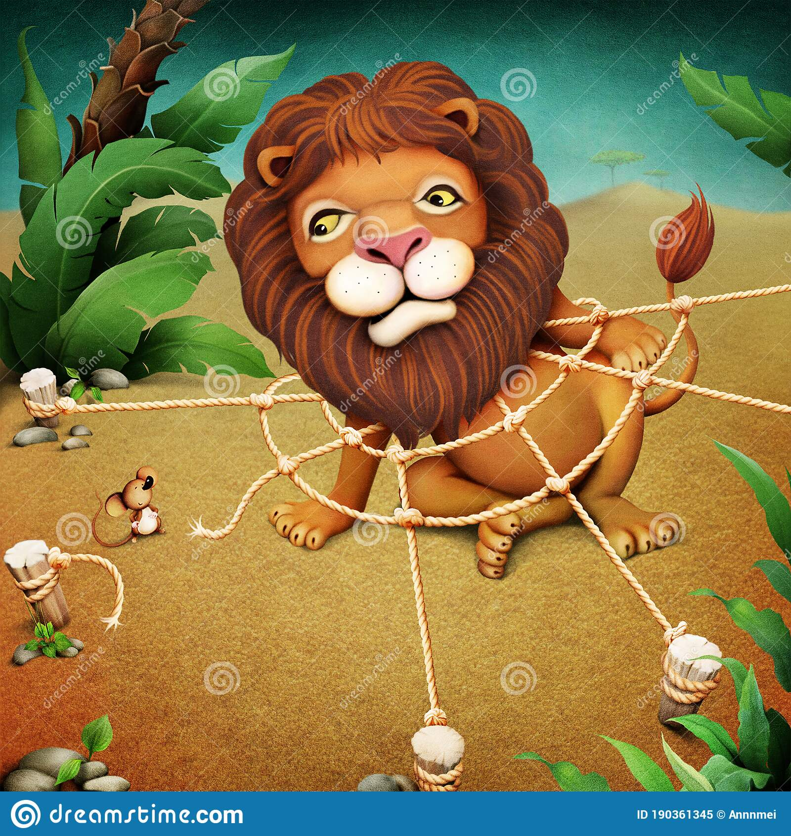 Lion Mouse Stock Illustrations – 2,646 ...