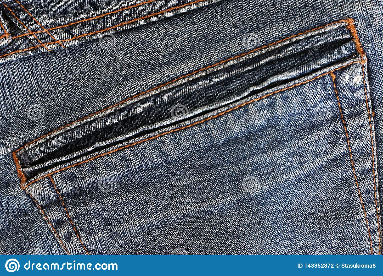 Fabric background. Part of jeans pants