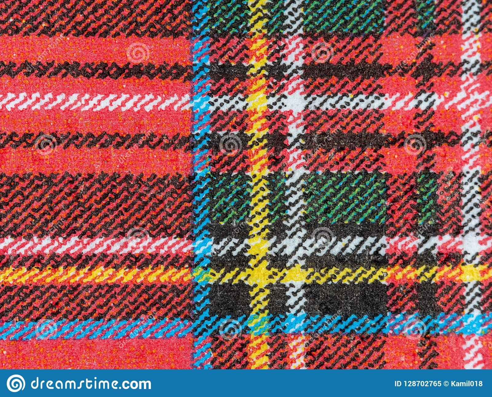 Fabric close up texture background