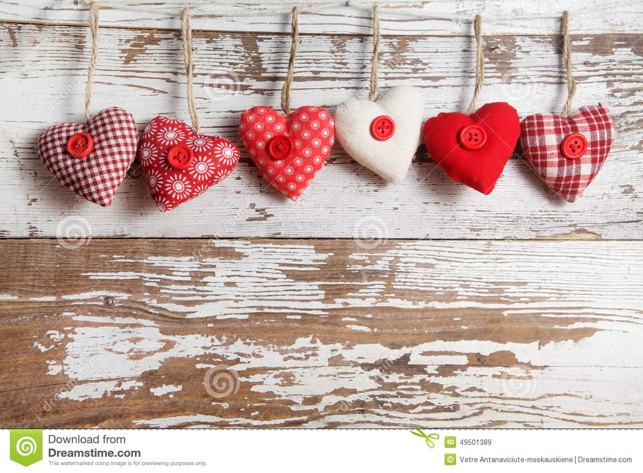 Download Fabric hearts stock image. Image of background, texture - 49501389