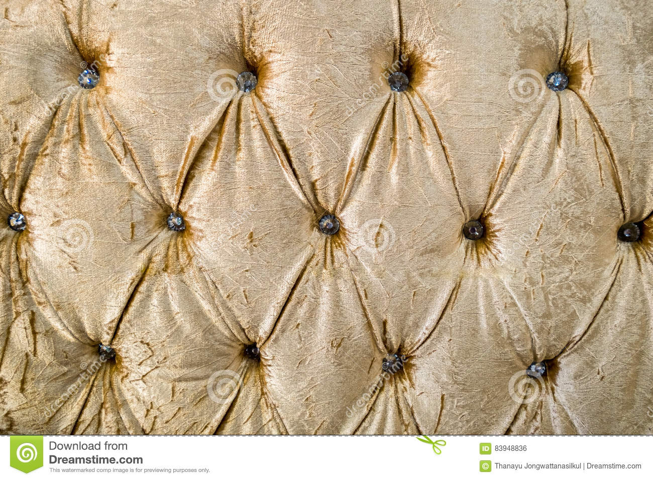 Leather cushion texture - Fabric Leather Yellow Gold Elegant Sofa Cushion Texture Stock Photo