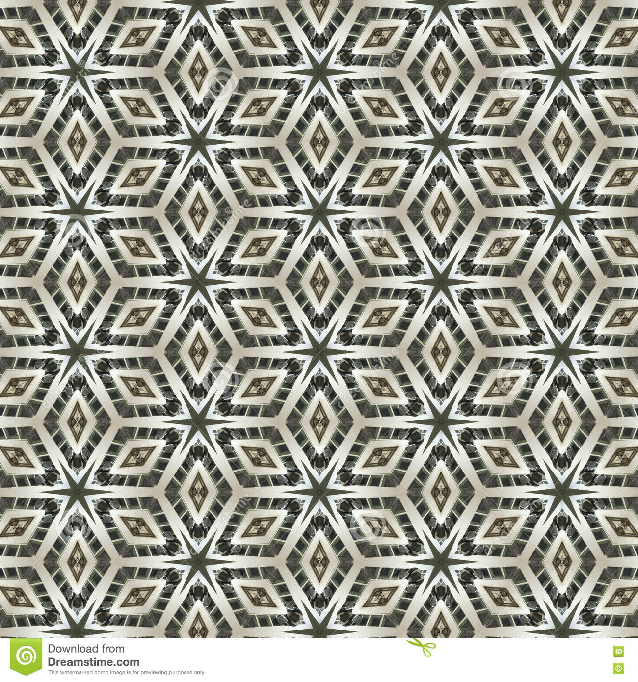 Fabric Pattern Design Or Interior Wallpaper Pattern Stock