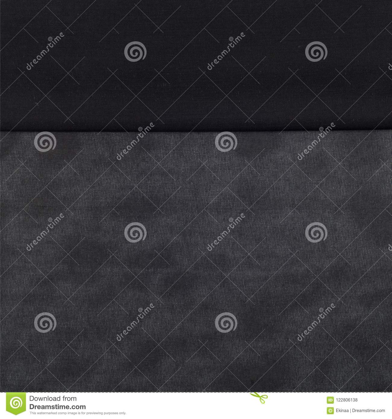 Fabric Silk Texture  Black Color Stock Photo - Image of work