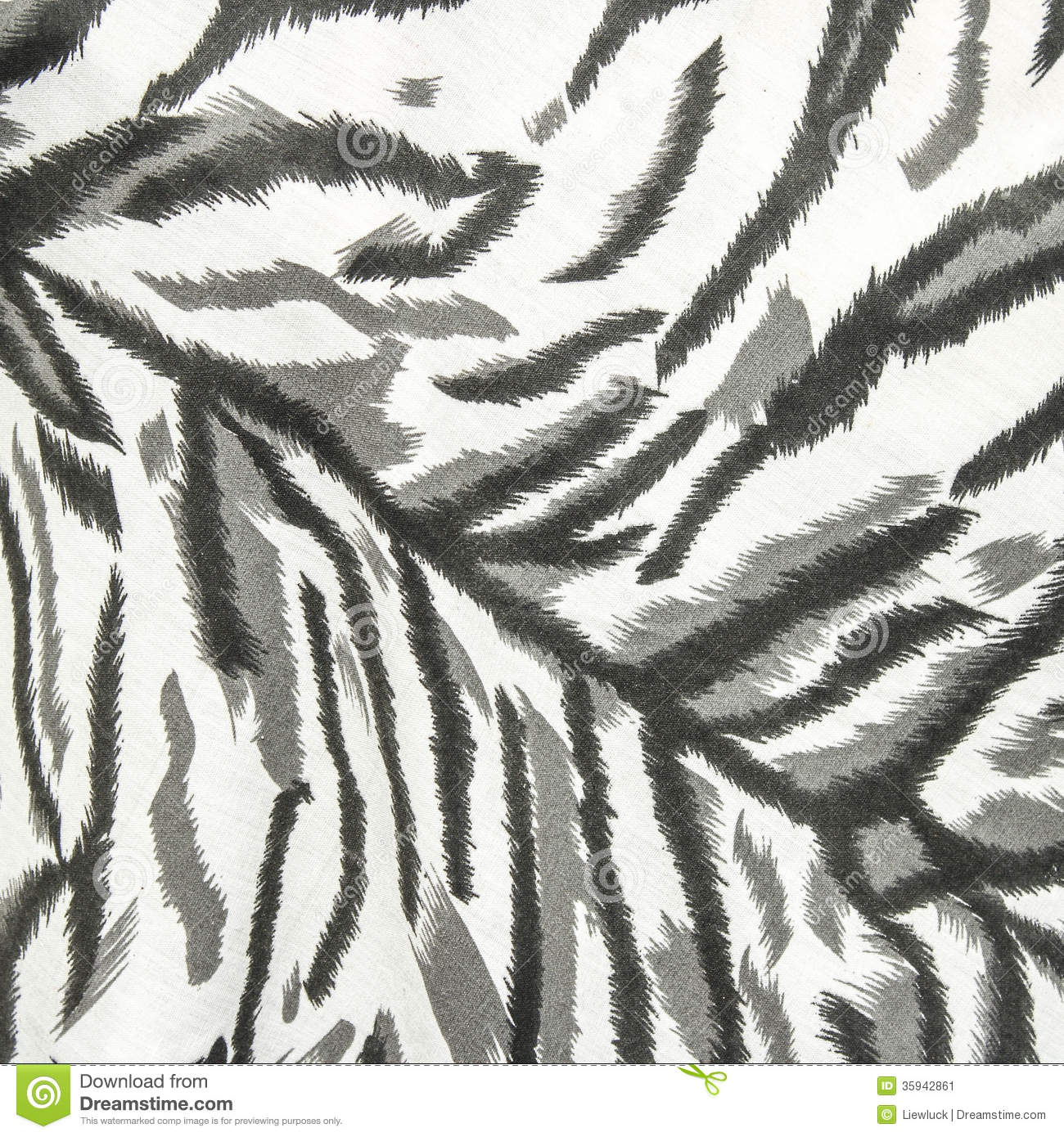 White tiger print background