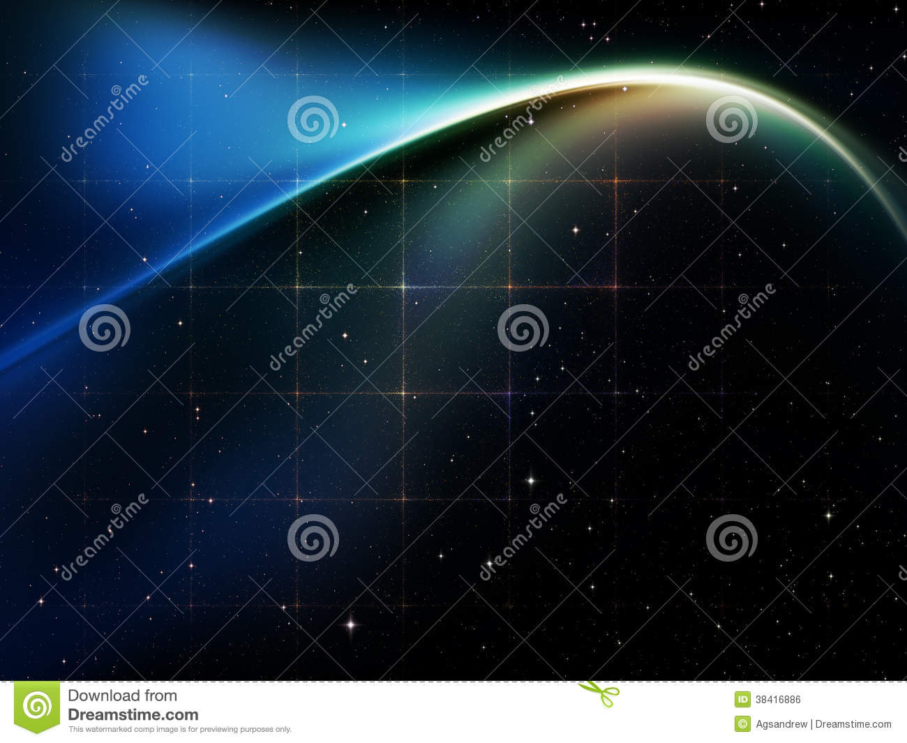 Fabric of space royalty free stock image image 38416886 for 3d space fabric