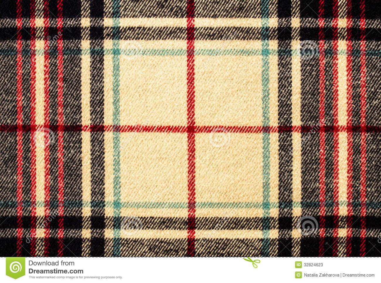 Tartan Plaid tartan plaid fabric pattern background textured stock image