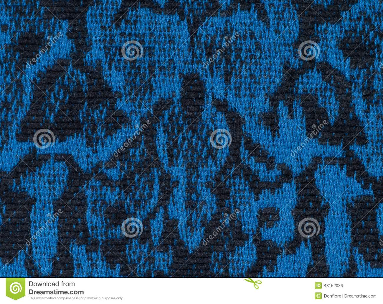 Fabric Texture Endless Pattern, Black And Blue Stock Photo - Image ... for Fabric Texture Design Blue  174mzq