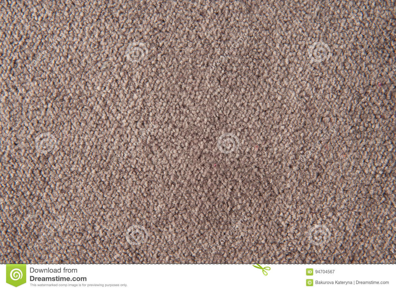 Fabric texture lilac carpeting