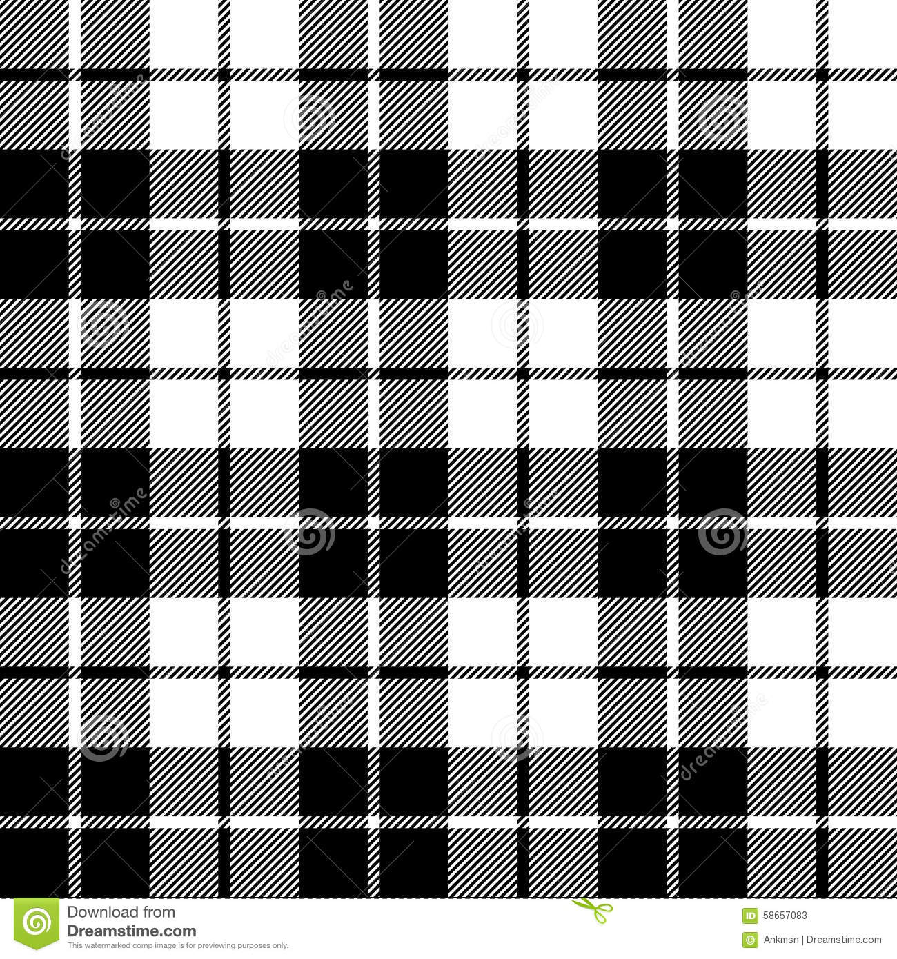 fabric texture seamless pattern black tartan stock vector. Black Bedroom Furniture Sets. Home Design Ideas