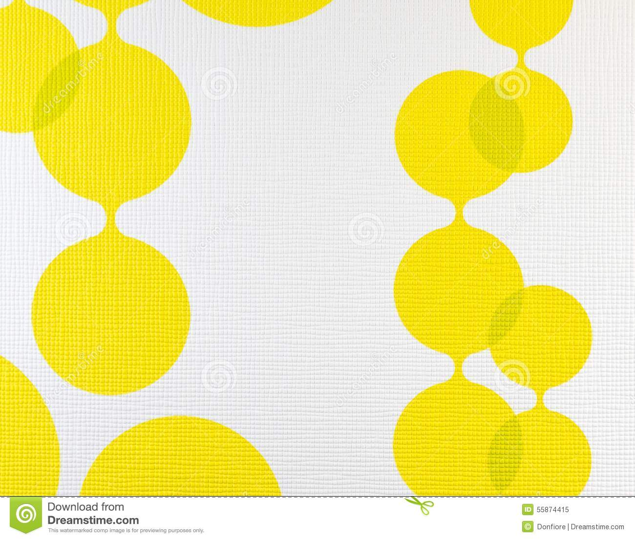 Yellow Cloth Texture Background Vector Illustration