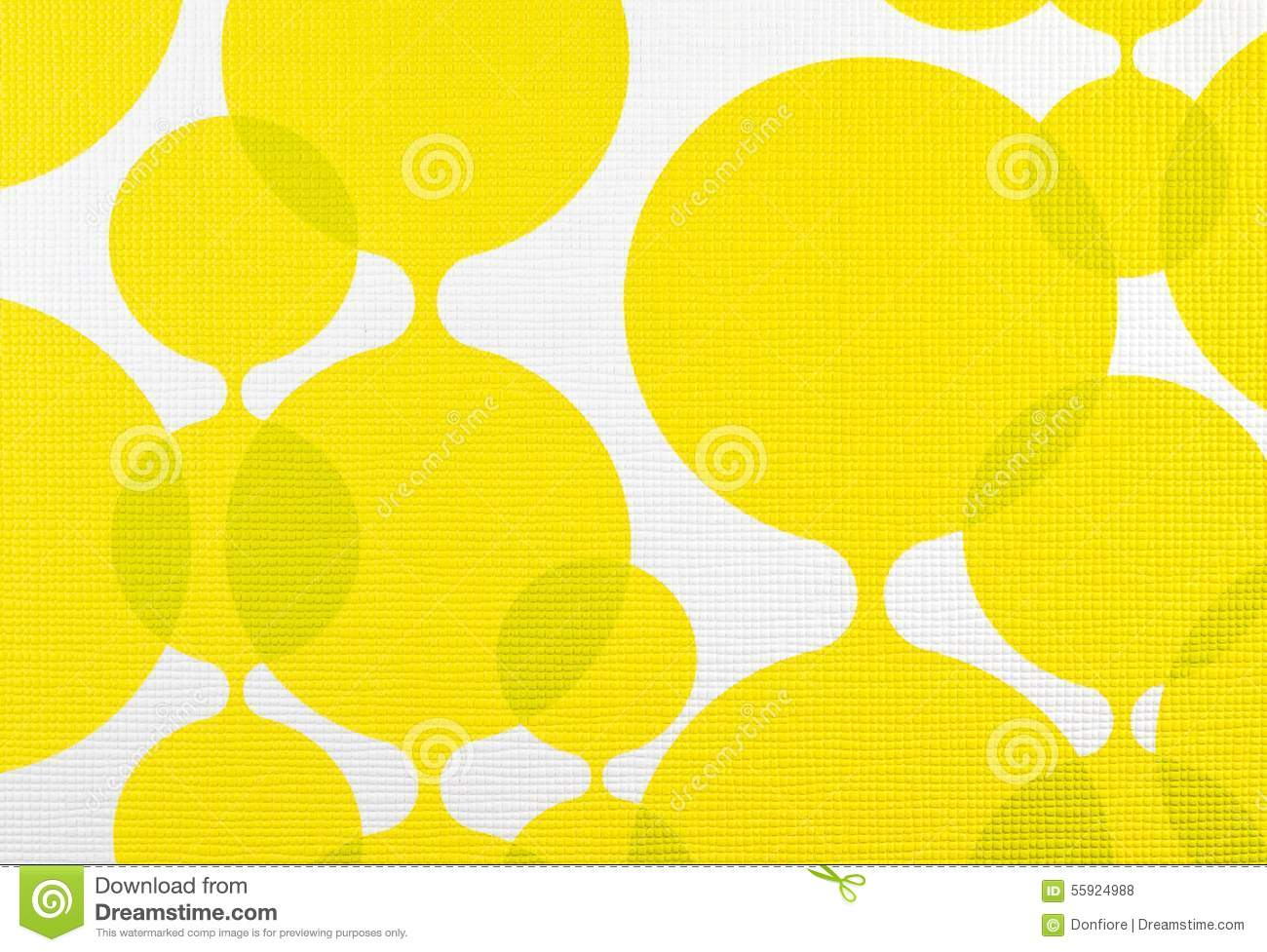 Fabric Texture Yellow And White Background, Cloth Pattern Stock ...