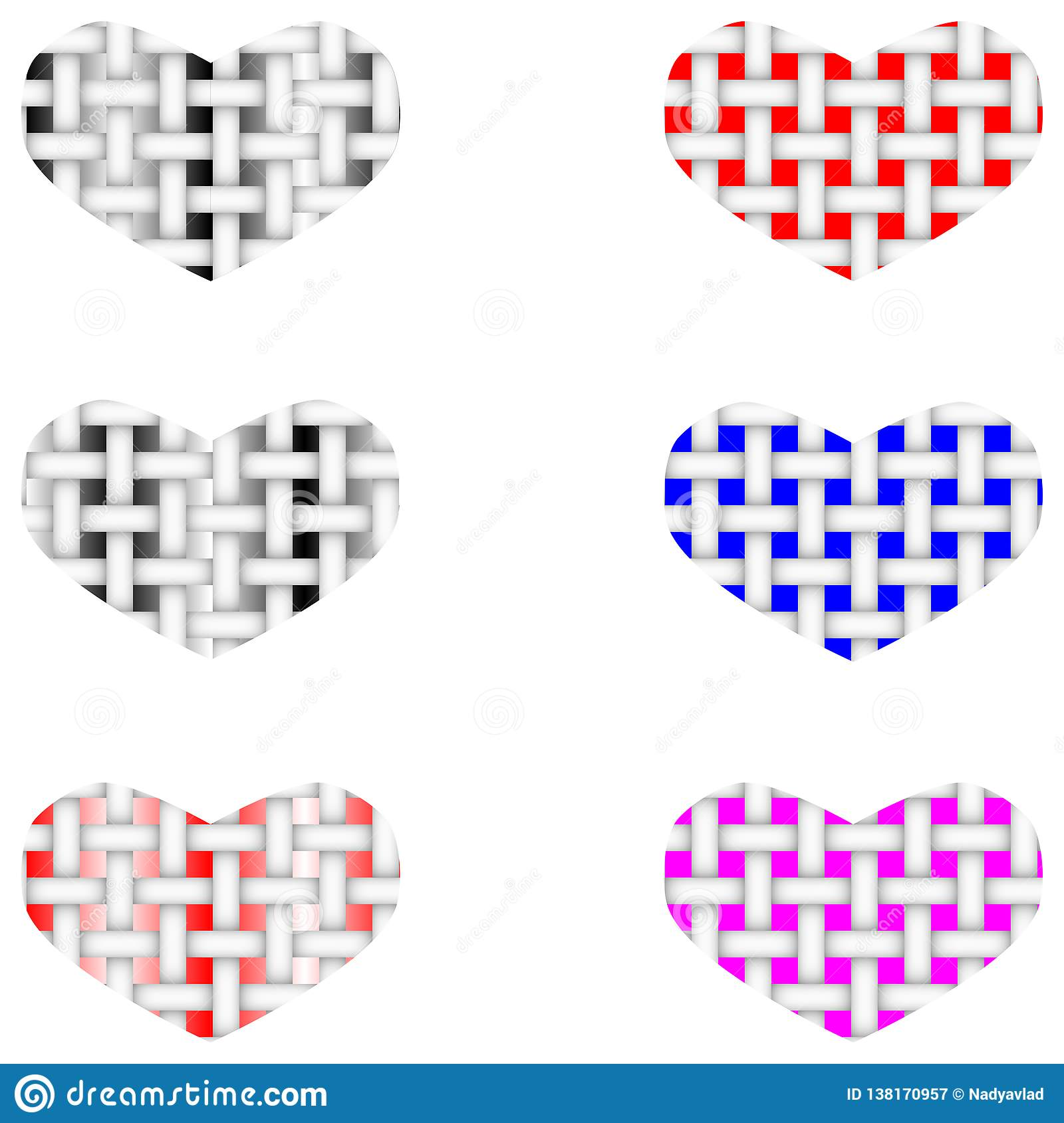 Fabric vector structure of the heart