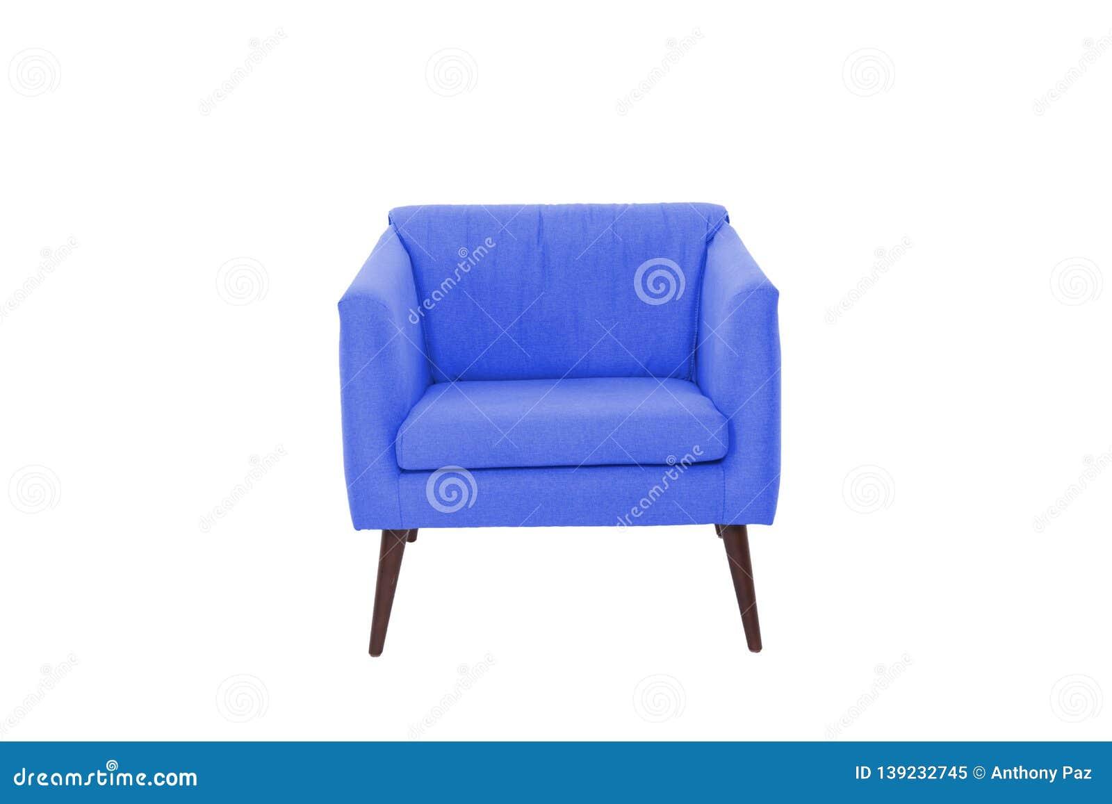 fabric wood armchair modern designer chair white background texture