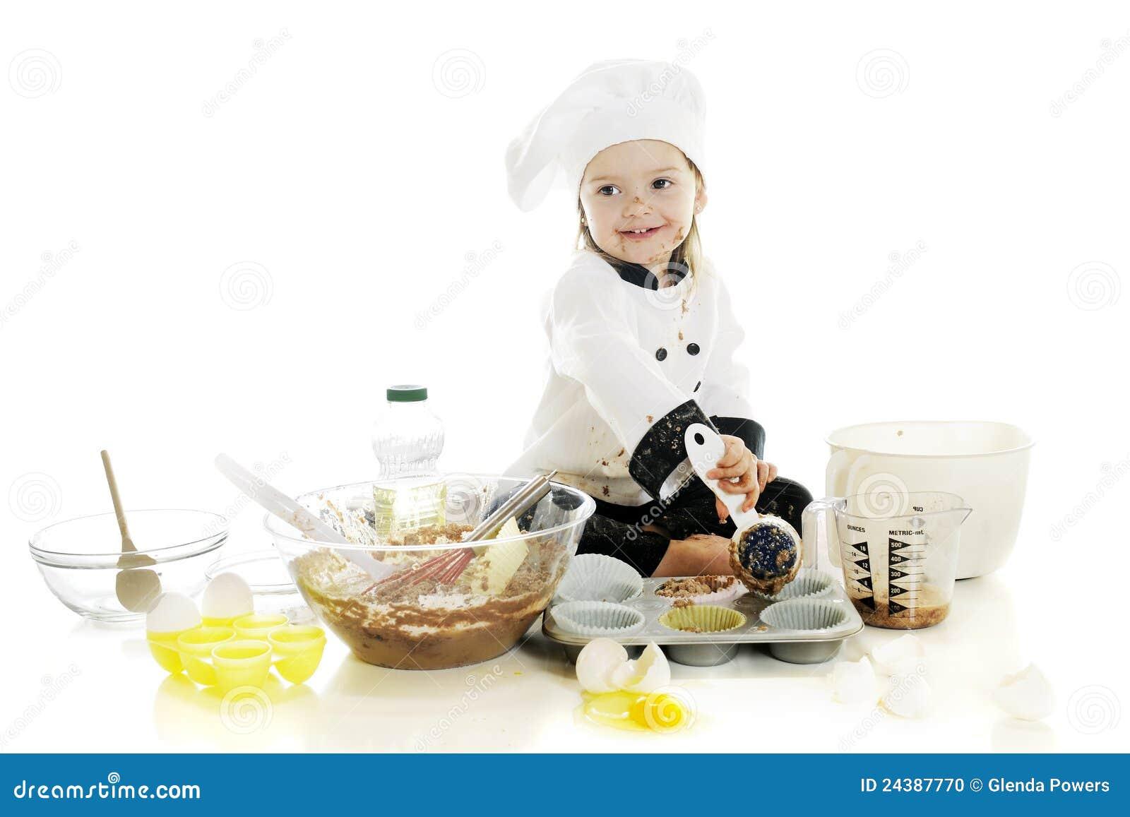 Fabricación de su primera torta