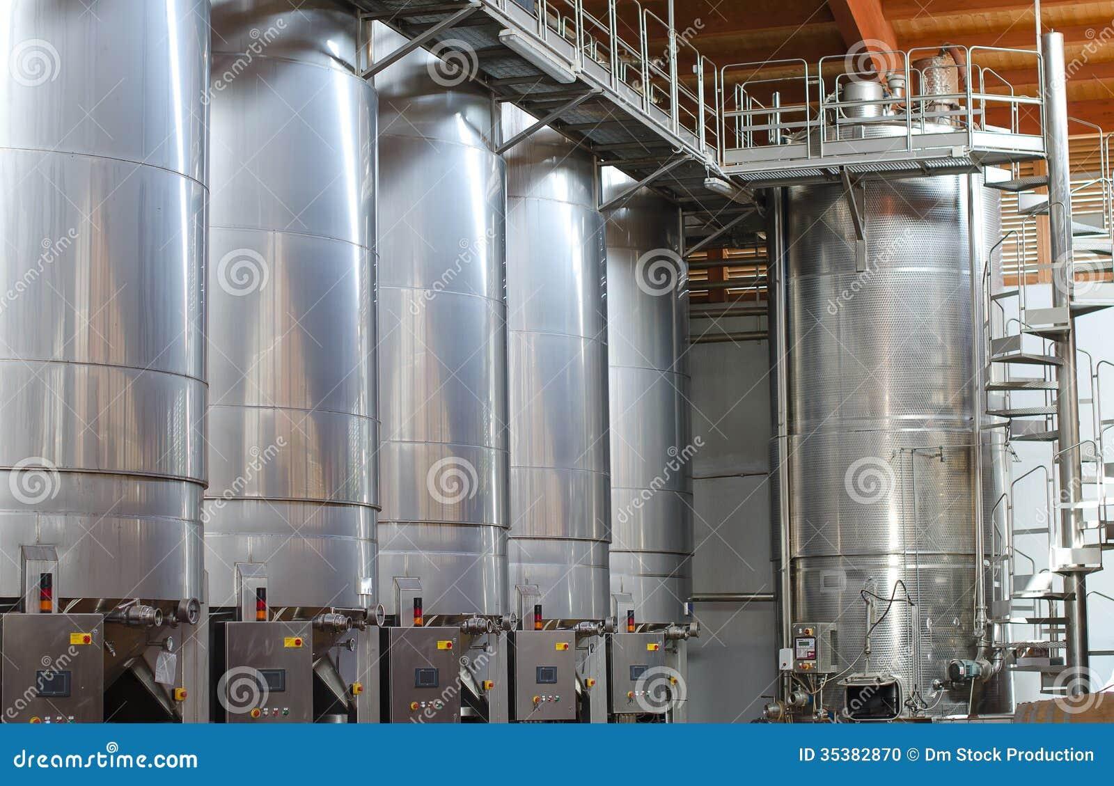 Fabricación del vino.