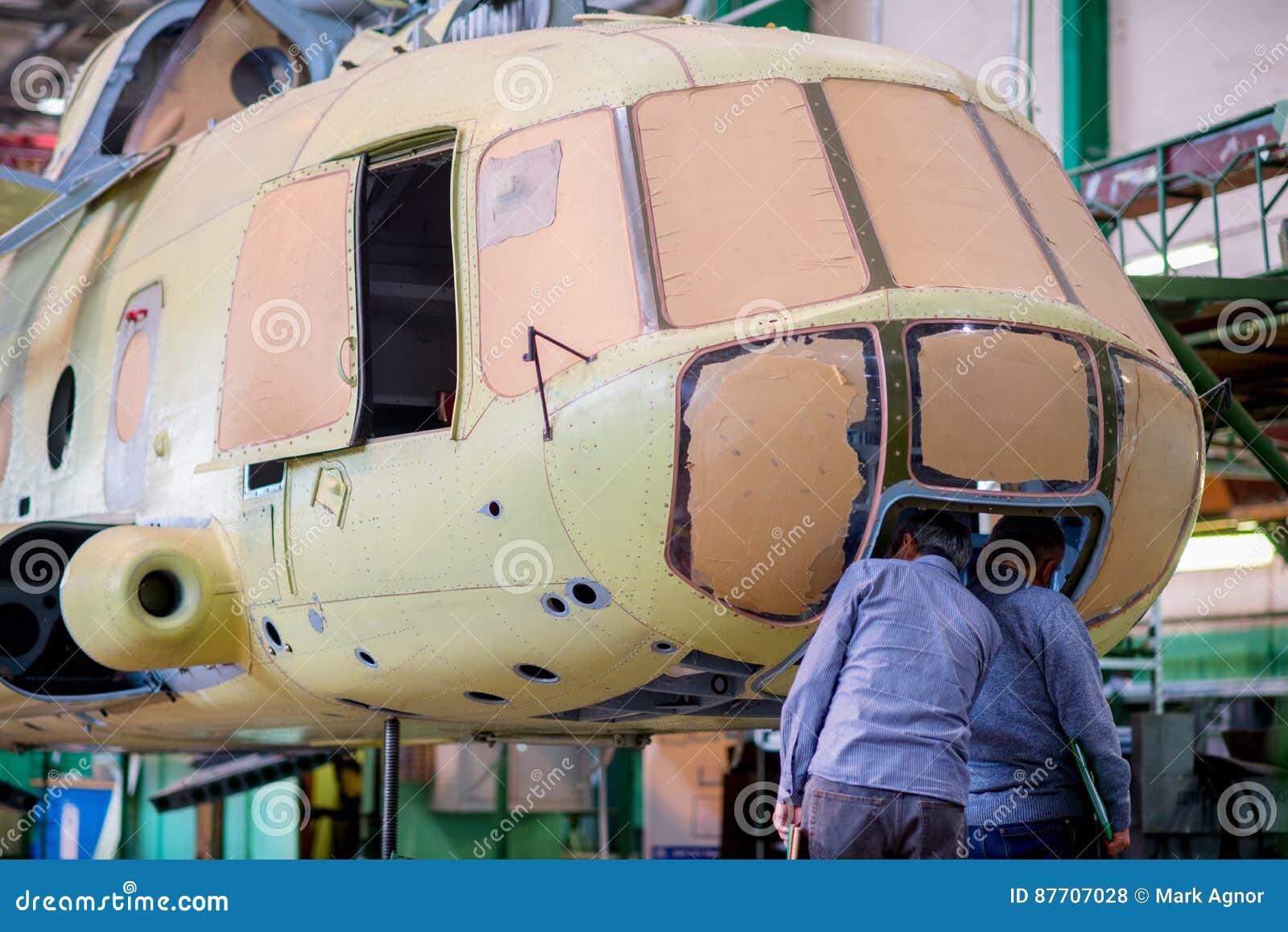 Fabrication des hélicoptères russes sur l usine d avions