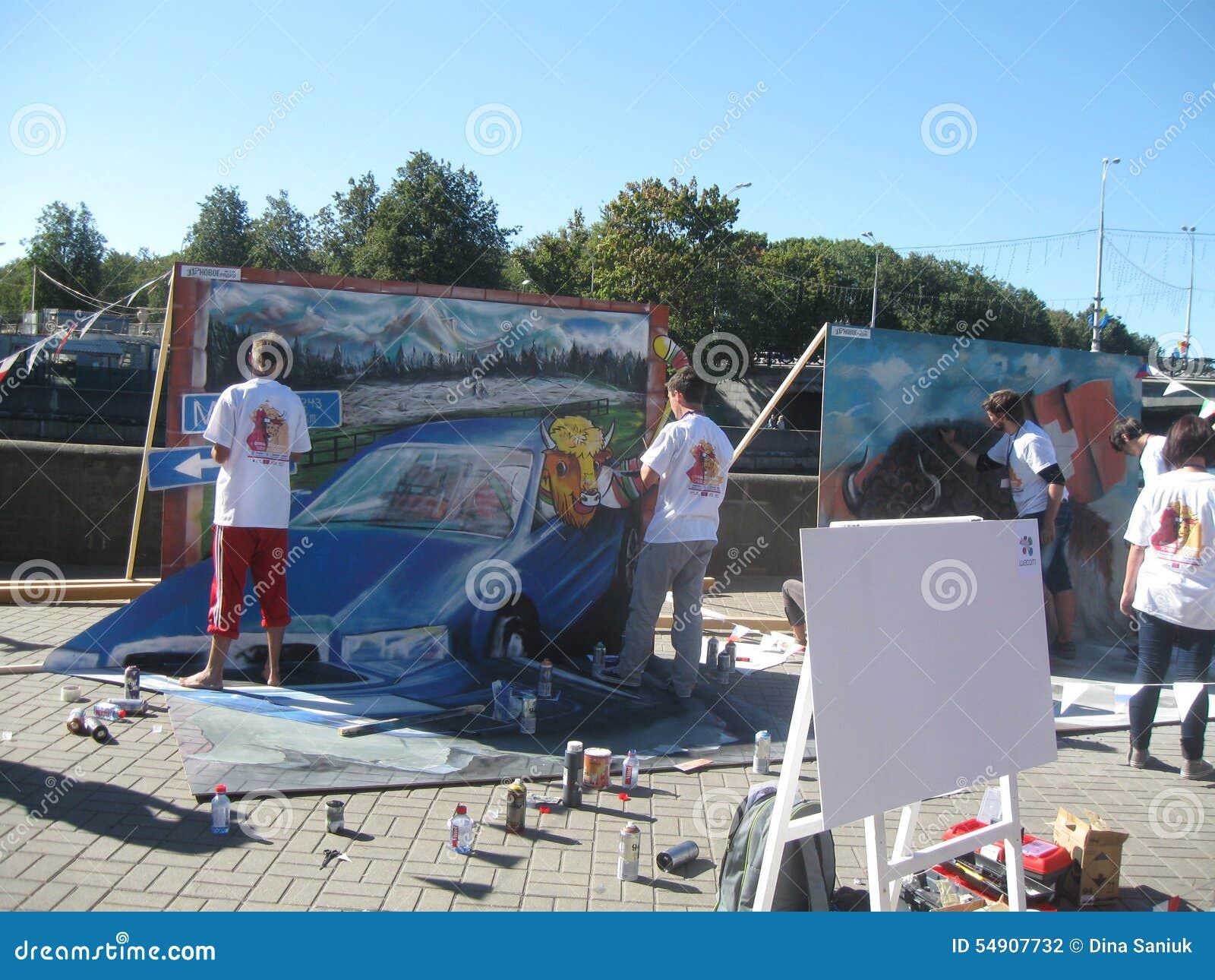 Fabrication du graffiti