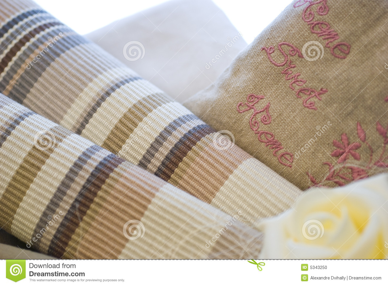 Fabrics And Textile Products Stock Photo Image 5343250