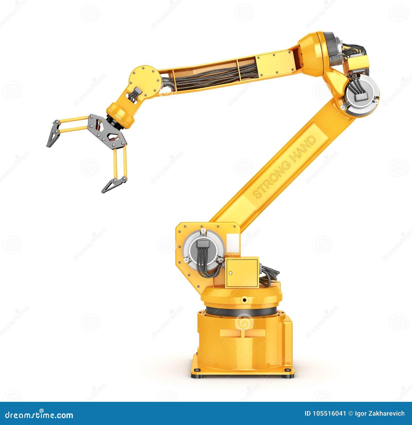 Fabrieksmanipulator Automatische hand voor transportband