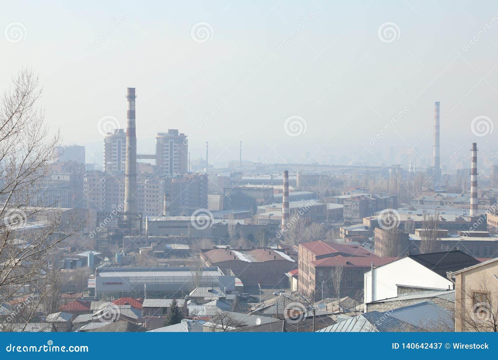 Fabriker i staden