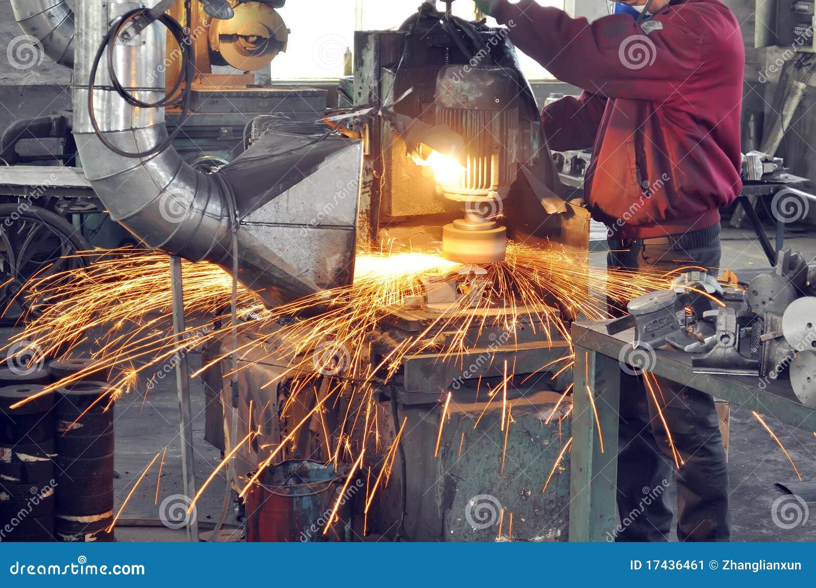 Fabrikpolierwerkstatt