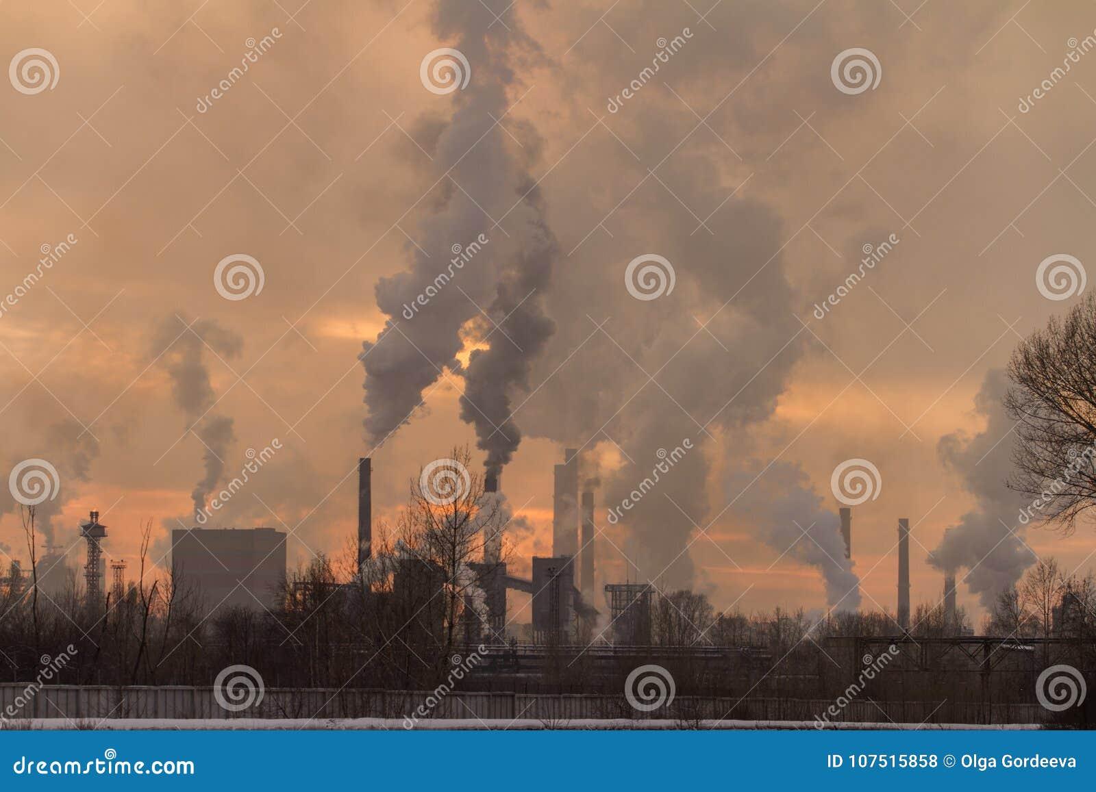 Fabrikrauchverschmutzung