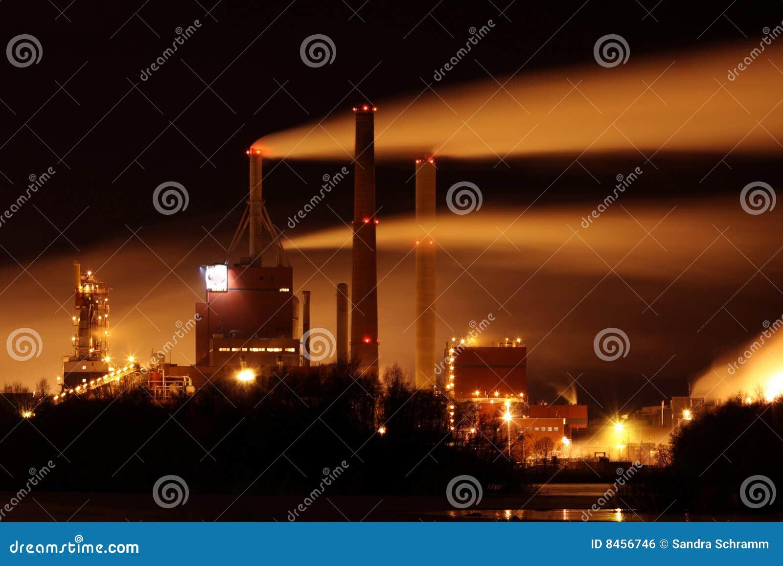 Fabriksrök