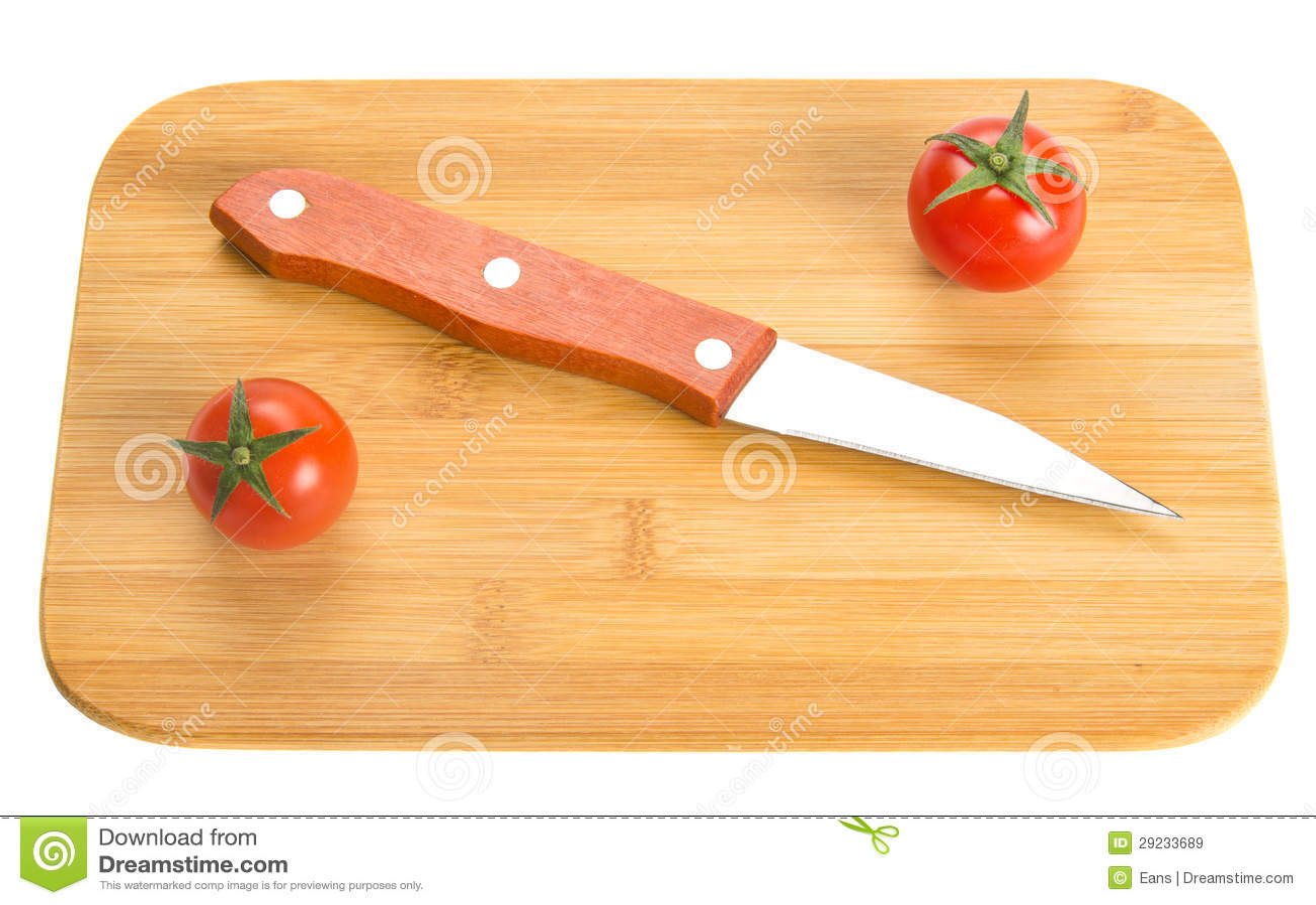 Download Faca De Cozinha Curta Na Placa De Desbastamento Imagem de Stock - Imagem de faca, short: 29233689