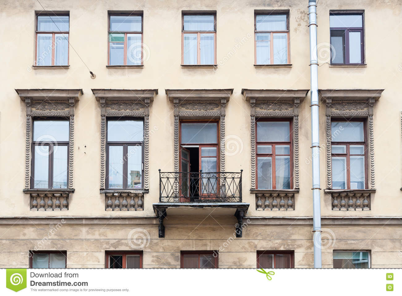 Facade of classic house stock photo image 73462556 for Classic house facades