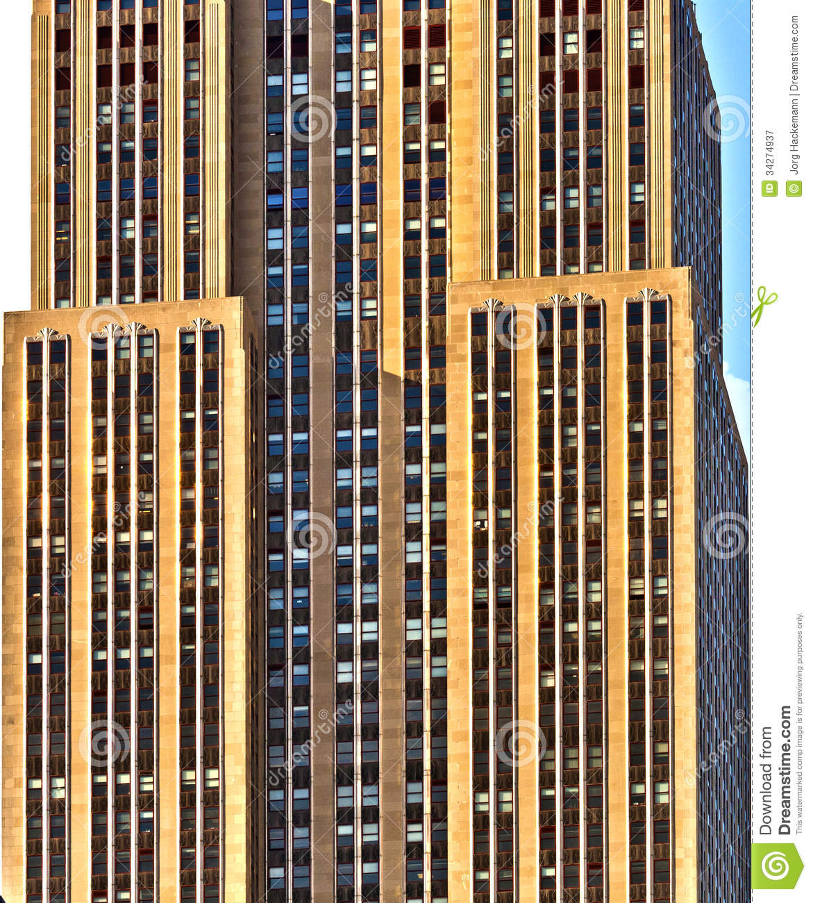 New York City Buildings Facades