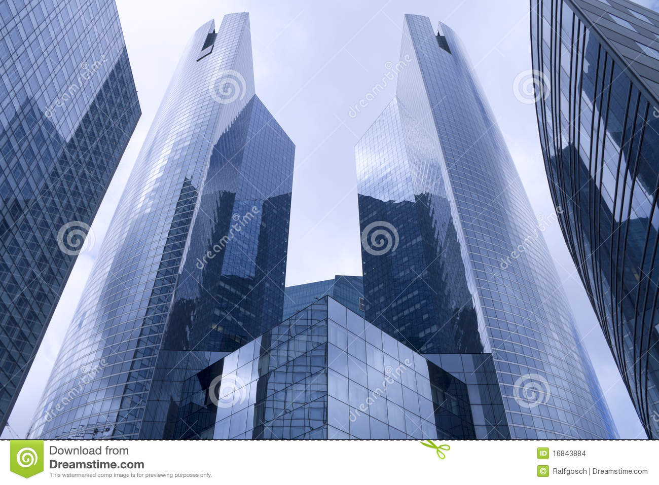 Facade of a modern bureau building stock photo image of