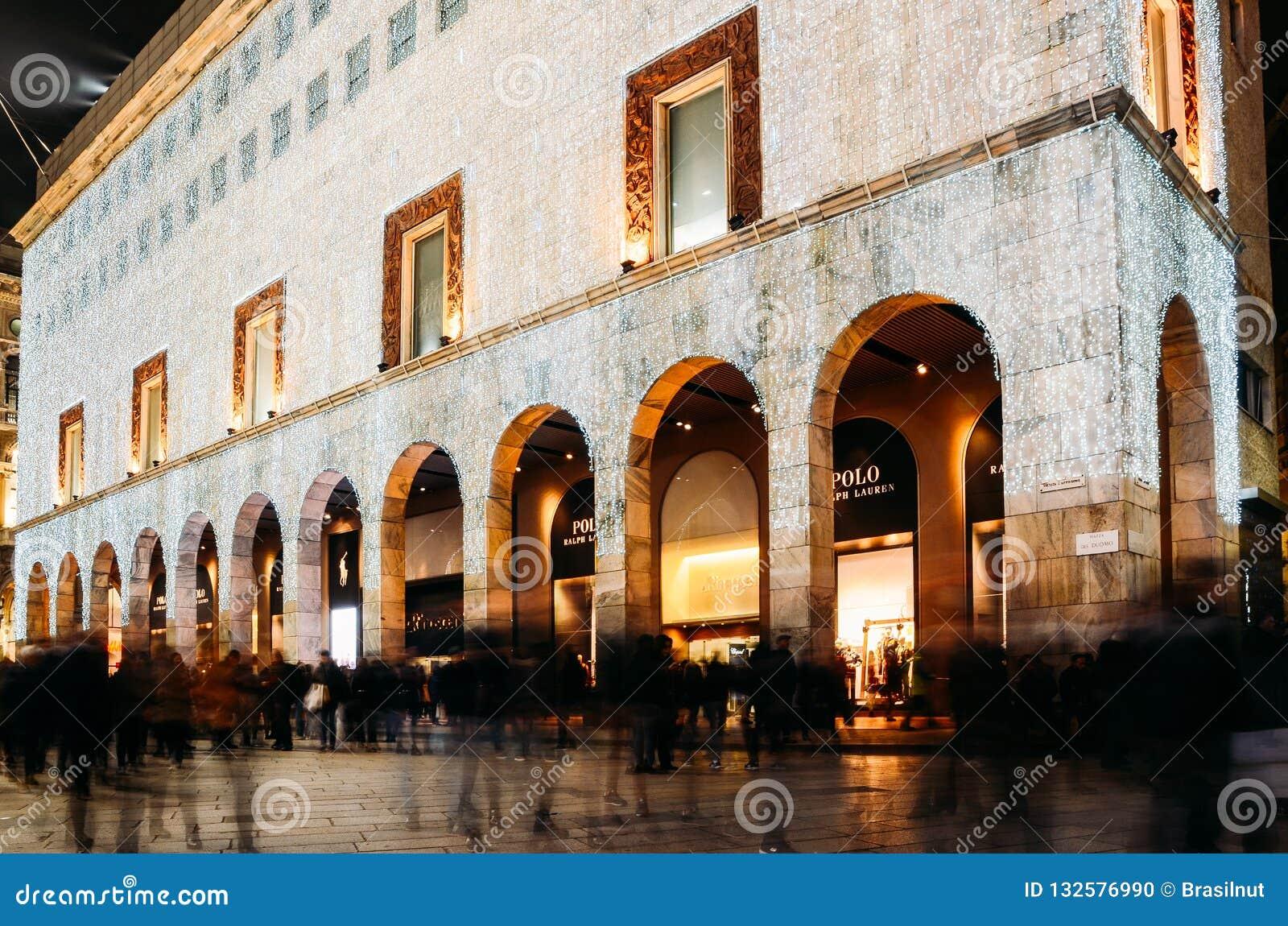 Facade Of Rinascente Department Store On Corso Vittorio