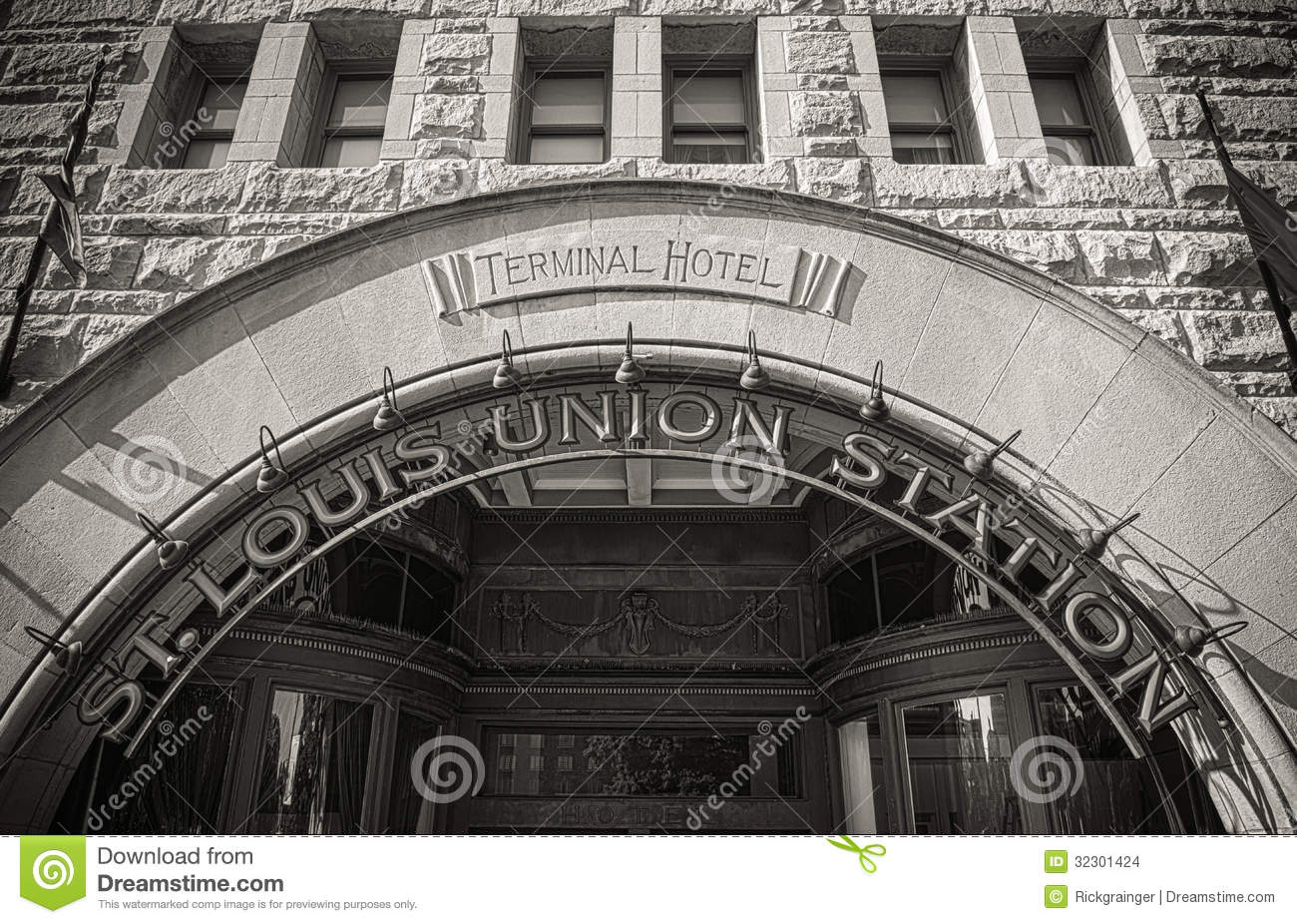 St Louis Union Station Hotel Map
