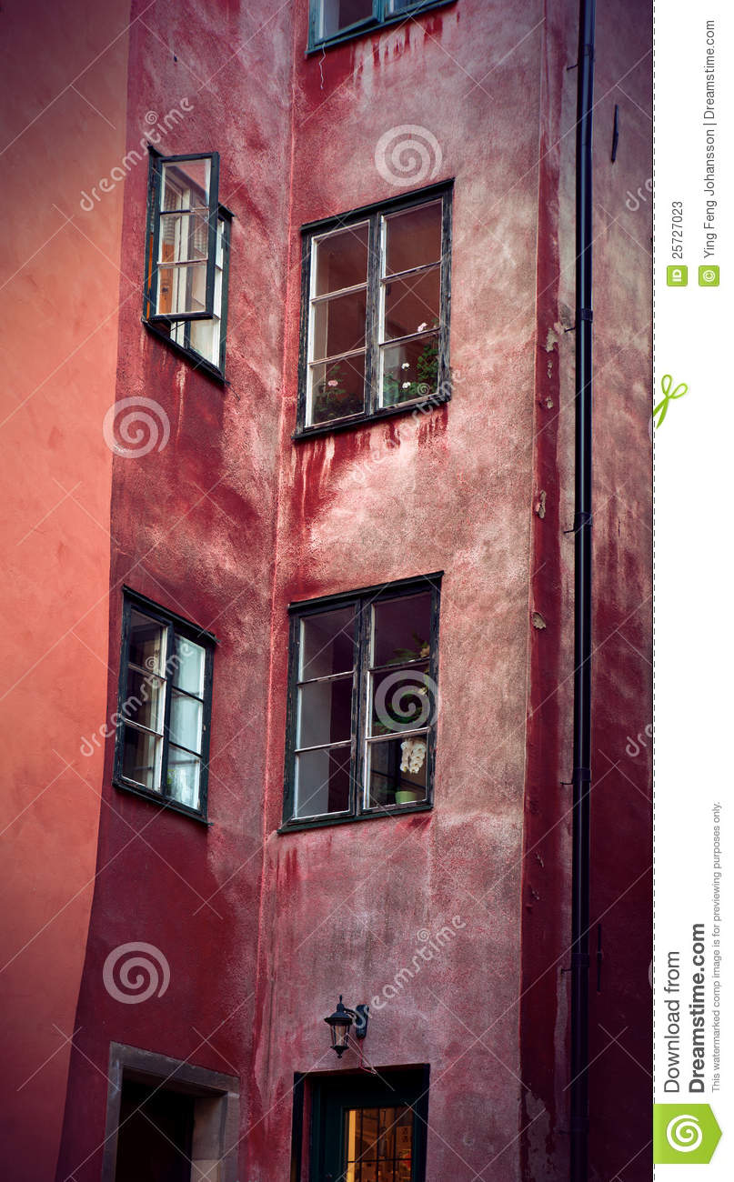 Facade in Stockholm old town